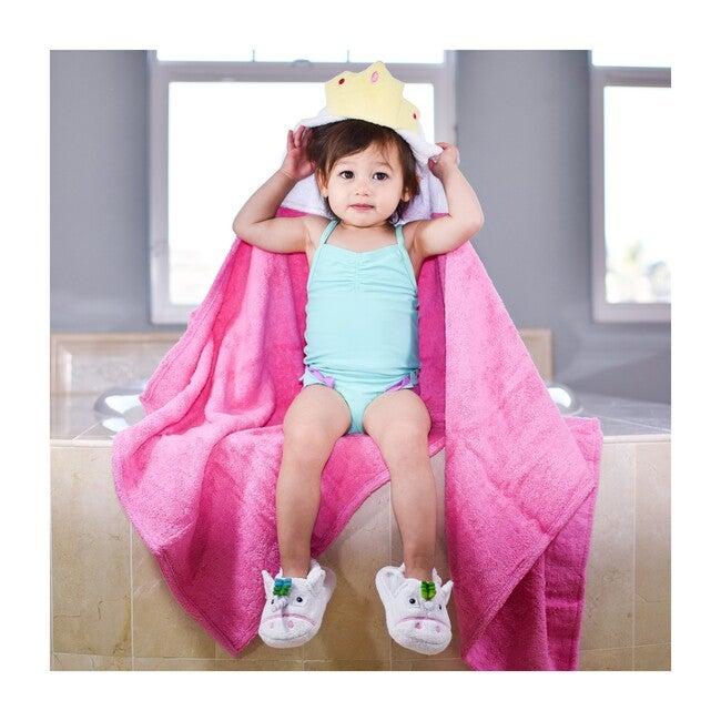 Princess Hooded Towel, Pink
