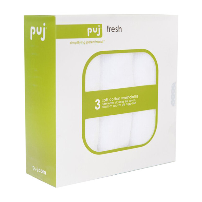 Washcloths, Set of 3 - Towels - 1 - zoom