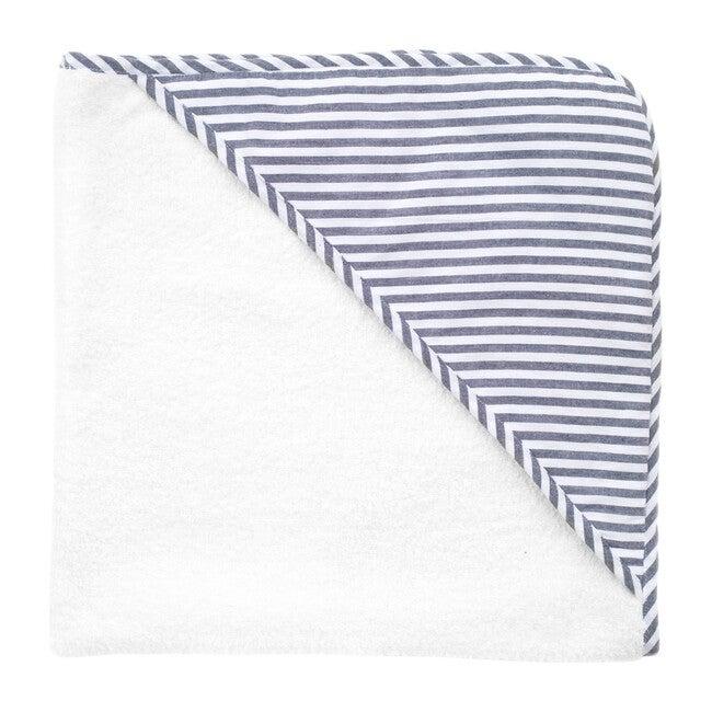 Hooded Towel, Harbor Island Stripe