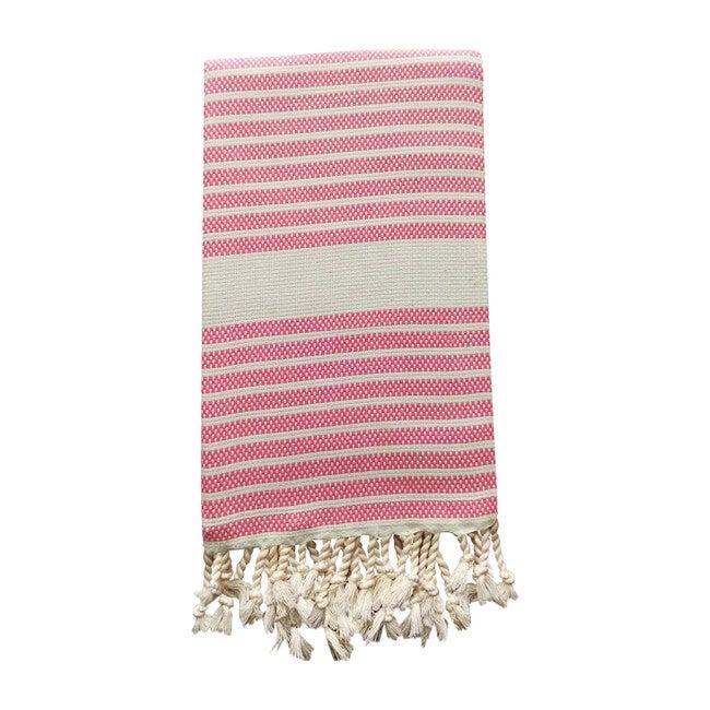 Bodrum Baby Beach Towel, Pink