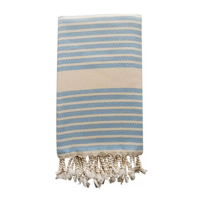 Bodrum Baby Beach Towel, Blue