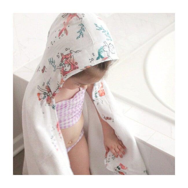 Baby Hooded Towel, Mermaid