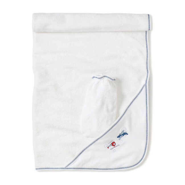 Aviators Towel & Mitt Set