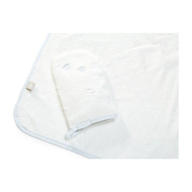 Stokke Hooded Towel, Blue Sea