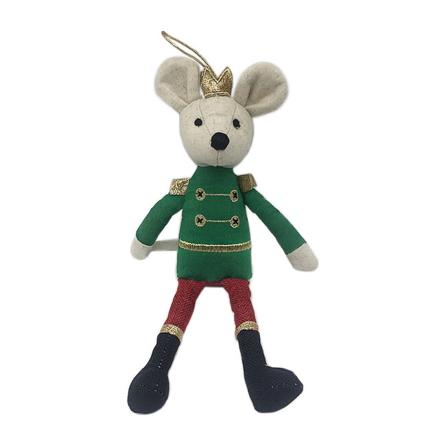 King Mouse Doll Ornament