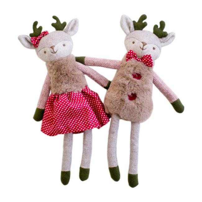Mr & Mrs. Merry Reindeer Set