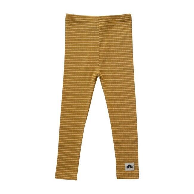 Leggings,  Yellow Stripes