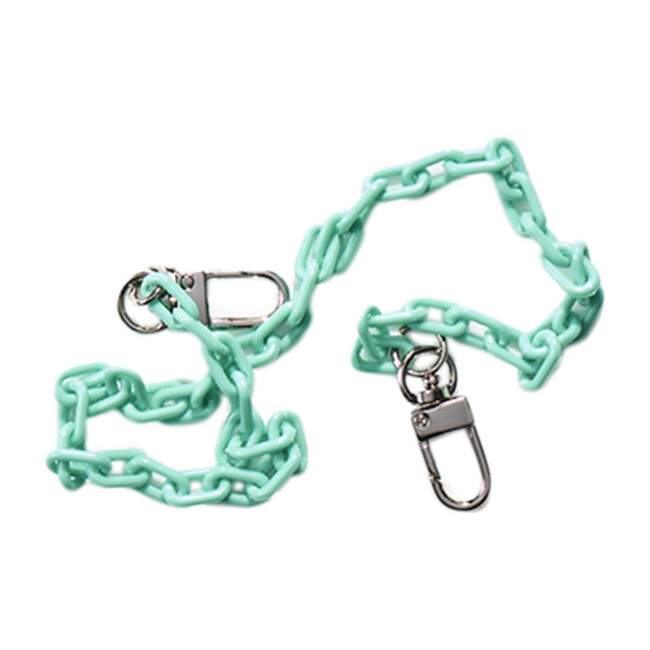 Dylan Kids & Adult Face Mask Chain Strap, Mint Green