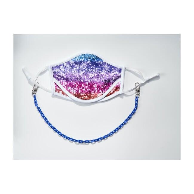 Dylan Kids & Adult Face Mask Chain Strap, Royal Blue