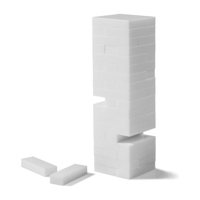 Tumble Tower, White Acrylic