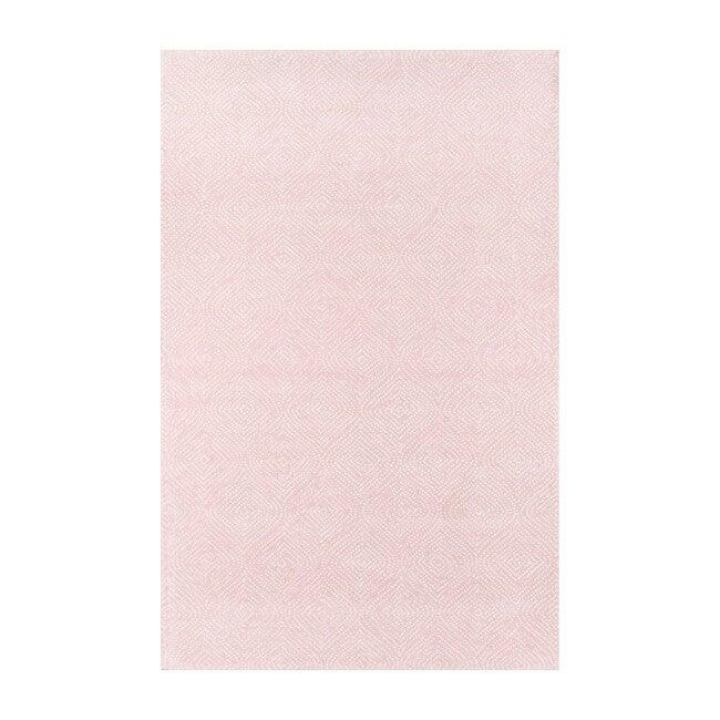 Roman Holiday Via del Corso Rug, Pink