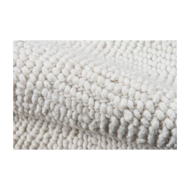 Ledgebrook Washington Handwoven Rug, Ivory