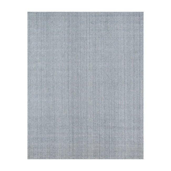 Ledgebrook Washington Handwoven Rug, Grey