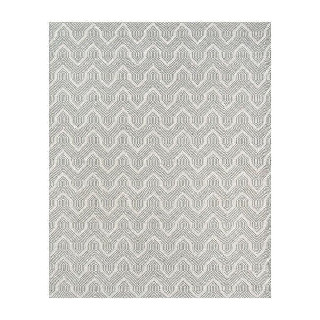 Langdon Prince Handwoven Wool Rug, Grey