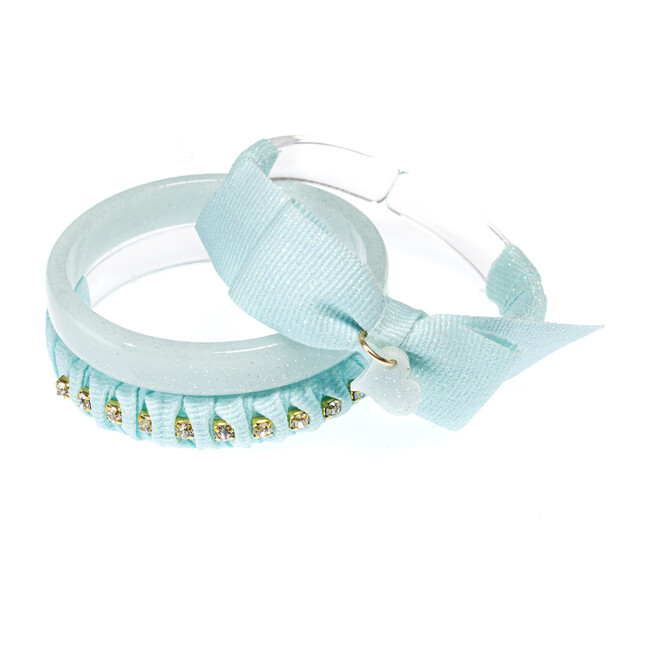 Fancy Fabric Bracelets, Mint