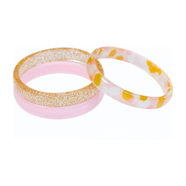 Pink Gold Dots Mix Bracelets