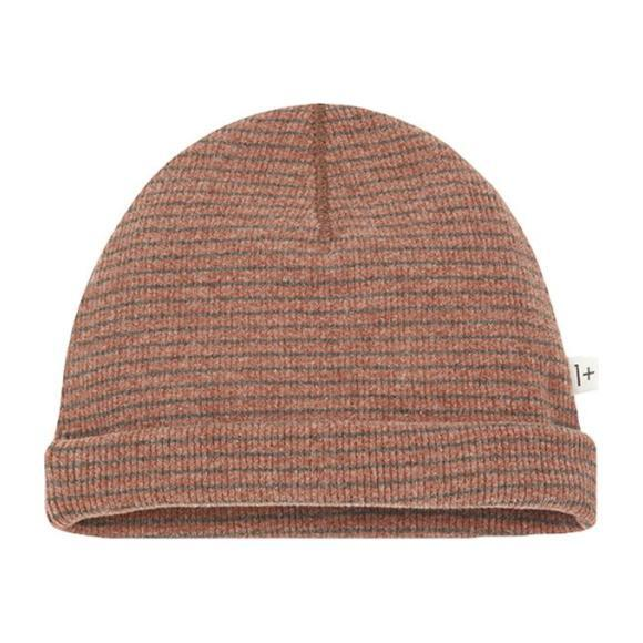 Yoho Hat With Thin Stripes, Brown
