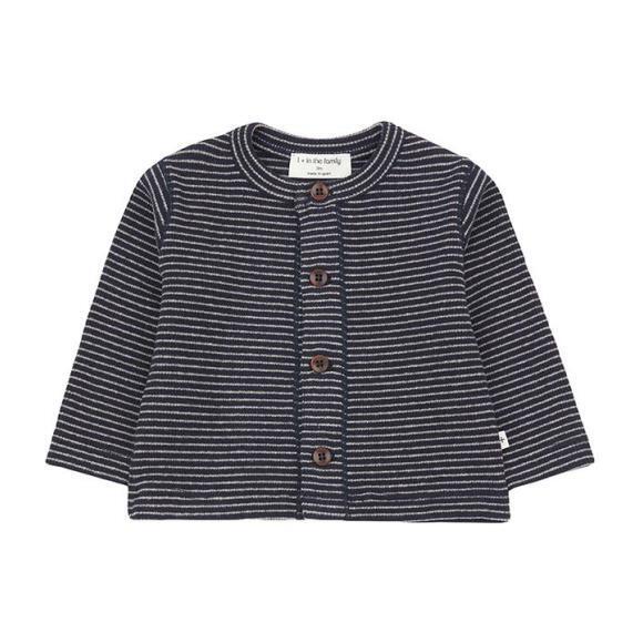 Terranova T-shirt With Thin Stripes, Navy Blue