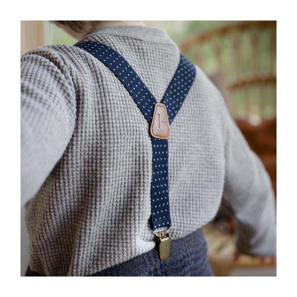 Koldo Suspenders, Navy Blue