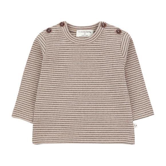Jasper T-shirt With Thin Stripes, Pink