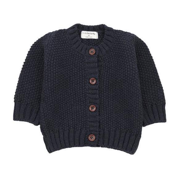 Furka Textured Knit Sweater, Navy Blue