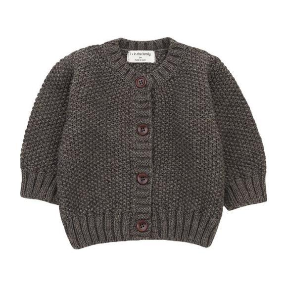 Furka Textured Knit Sweater, Grey