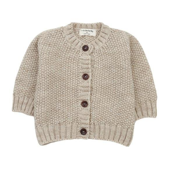 Furka Textured Knit Sweater, Beige