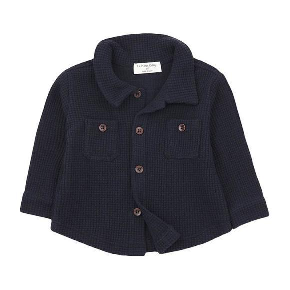 Civetta Shirt, Navy Blue