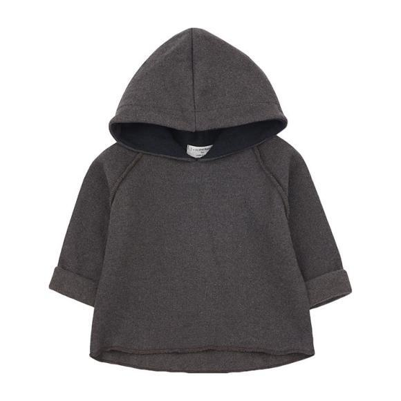 Caro Sweatshirt With Hood, Grey