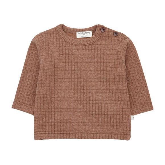 Bulnes T-shirt With Check Print, Brown