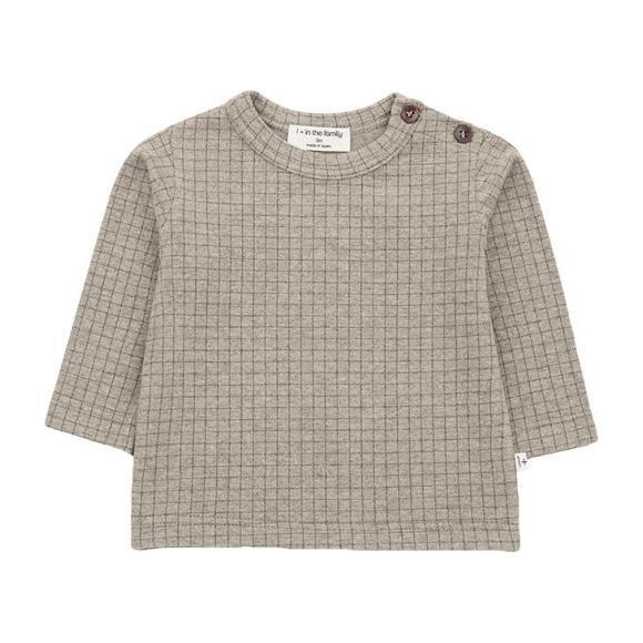 Bulnes T-shirt With Check Print, Beige