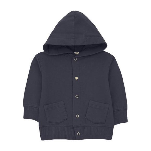Boi Jacket With Hood, Navy Blue