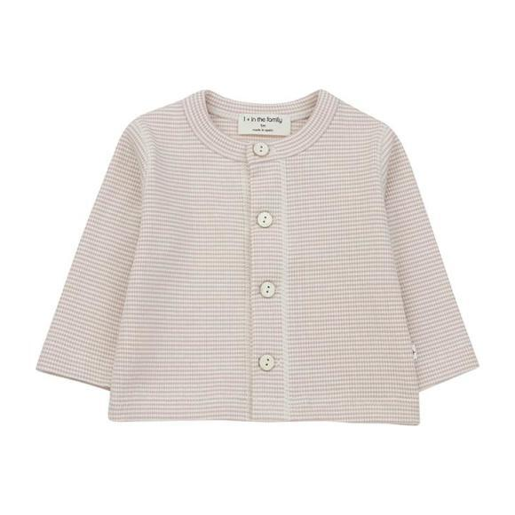 Agathe T-shirt With Thin Stripes, Pink
