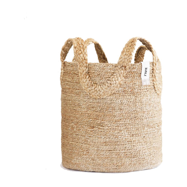 Ecole Tall Basket, Natural