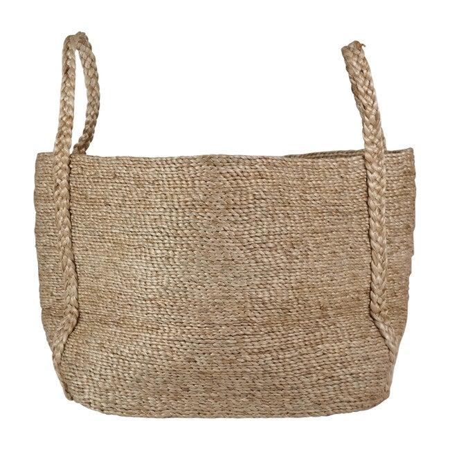 Andaman Medium Jute Basket, Natural