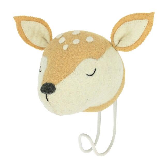 Sleepy Deer Hook, Light Tan