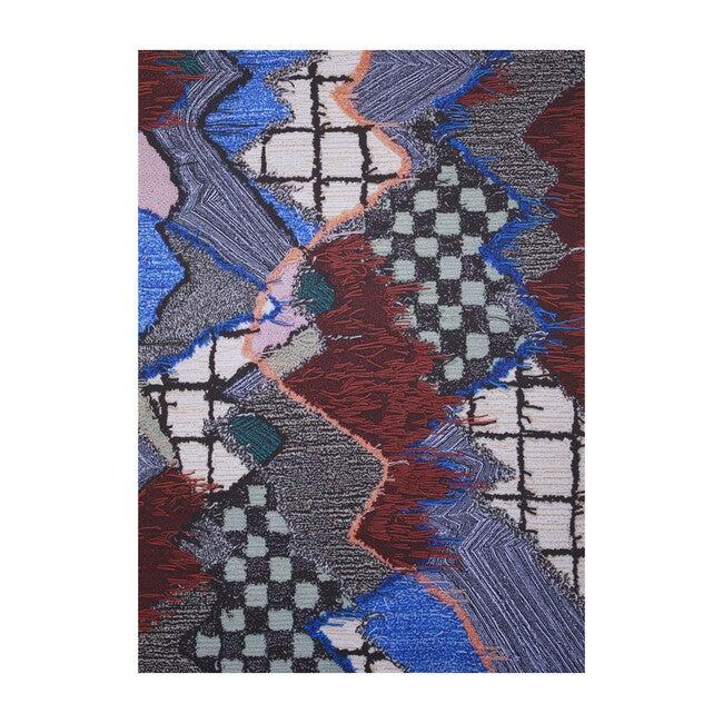 Upward Sweepable Shag Floormat, OG