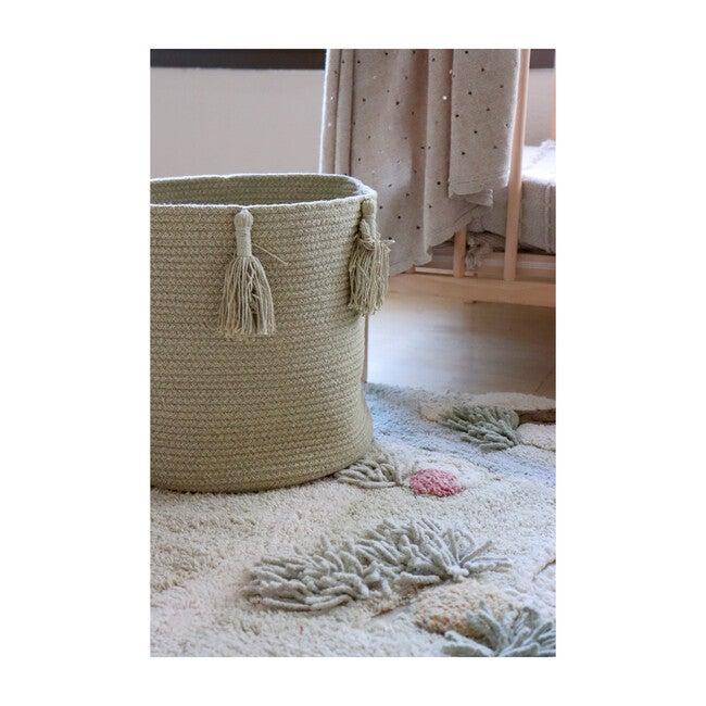 Woody Basket, Olive