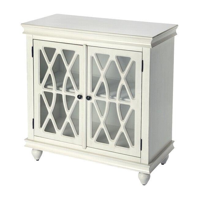 Lansing Storage Cabinet, Off-White