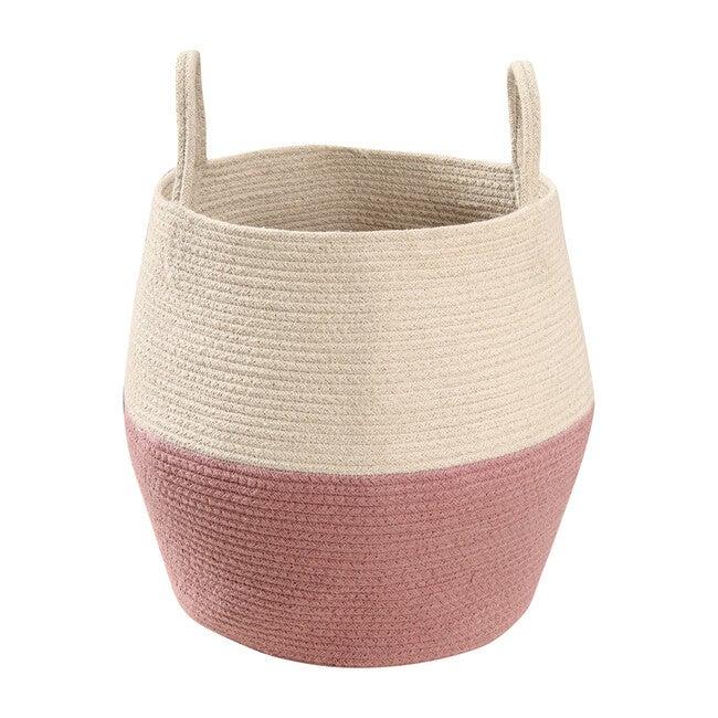 Zoco Basket, Ash Rose/Natural