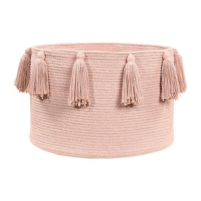 Tassels Basket, Vintage Nude