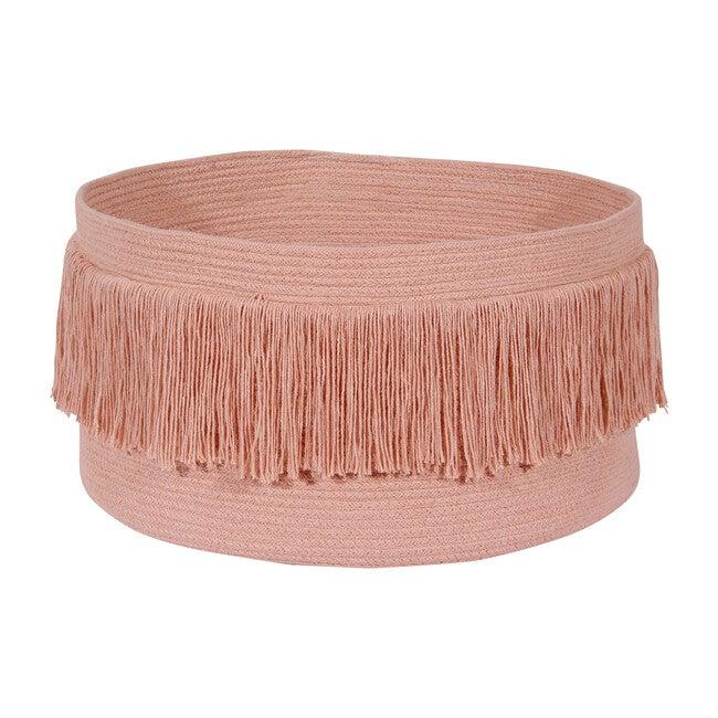 Fringes Basket, Sahara Nude