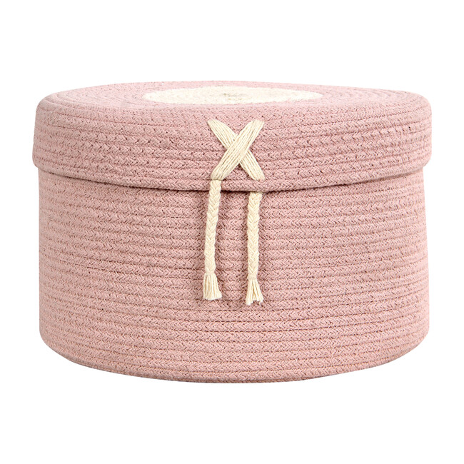 Candy Basket Box, Vintage Nude