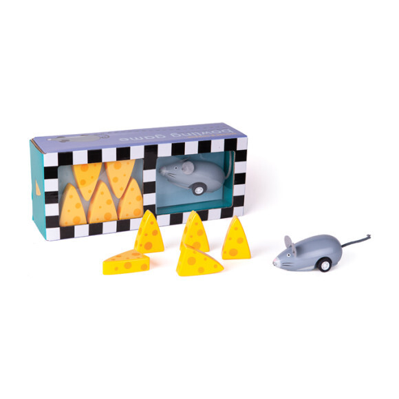 Mouse and Cheese Bowling Game