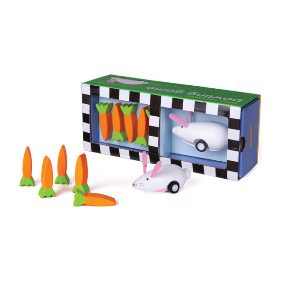 Bunny and Carrots Bowling Game