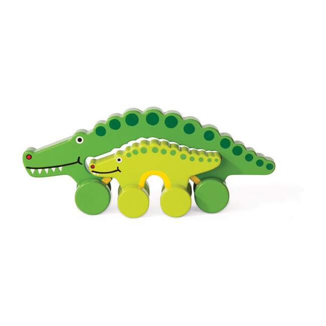 Mommy and Baby Rolling Toy, Alligator