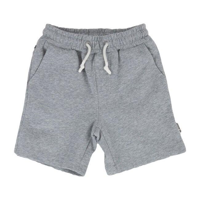 Trio Shorts, Heather Grey