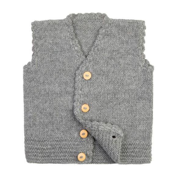 Vest, Gray