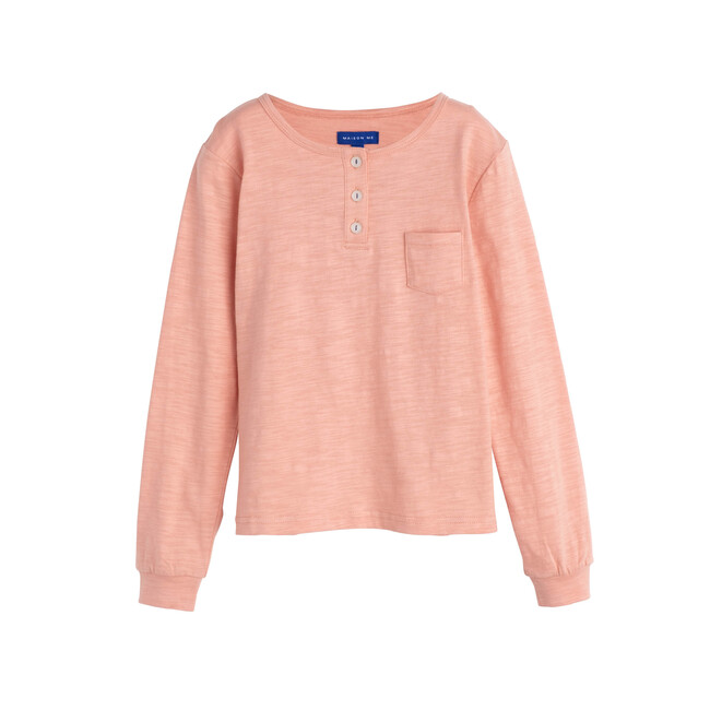 Rory Henley Shirt, Apricot