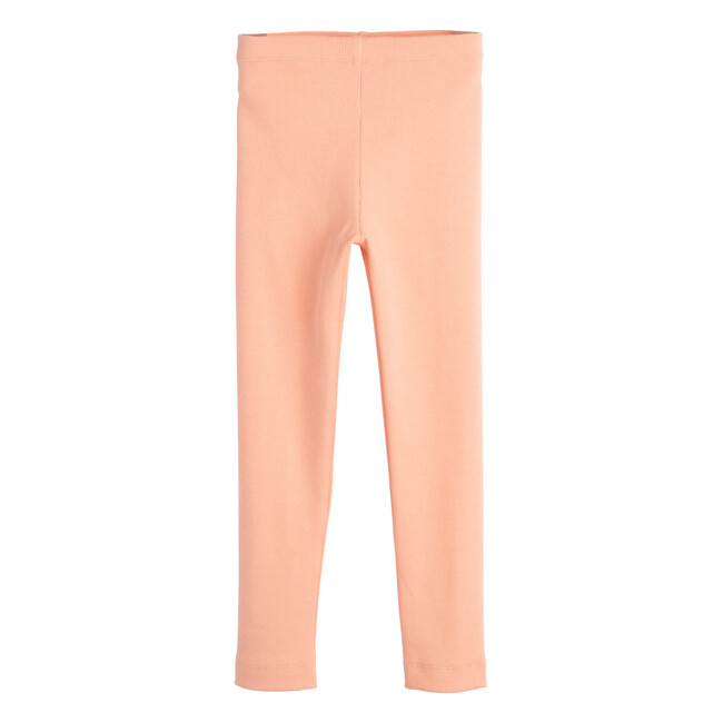 Reese Ribbed Legging, Apricot